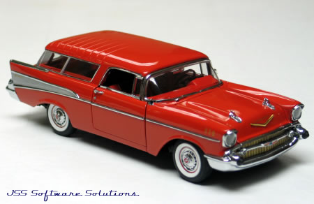 Phillymint Danbury Mint 1957 Chevrolet Nomad Diecast Model