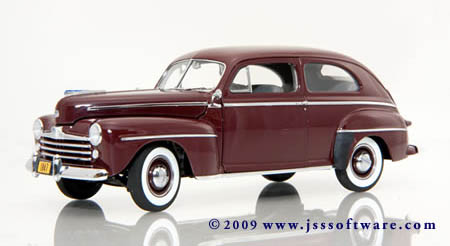 phillymint diecast danbury mint 1947 ford special deluxe tudor 47 Ford Truck the first ever 47 tudor replica a special collector s edition immediately after the automotive drought of world war ii economy minded car buyers may