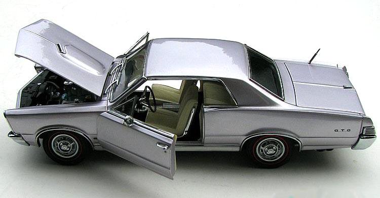 Phillymint Diecast Danbury Mint 1965 Pontiac Gto Ht Iris
