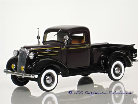 Phillymint Danbury Mint 1937 Chevrolet Pickup 1 24 Model