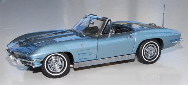PhillyMint Danbury Mint 1963 Corvette Stingray