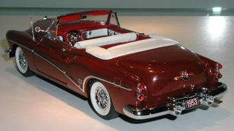 Danbury Mint 1953 Buick Skylark Red Convertible Model