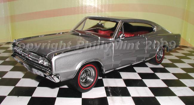 Magnum 500 Wheels >> Danbury Mint 1967 Dodge Charger Silver Metallic Ltd. Ed ...