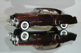 PhillyMintFranklin Mint 1949 Cadillac Coupe DeVille Ltd Ed 124 model