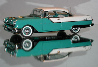 Phillymint Franklin Mint 1955 Pontiac Catalina Ht Light