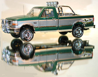 PhillyMint-Franklin Mint 1996 Ford Pickup Diecast model