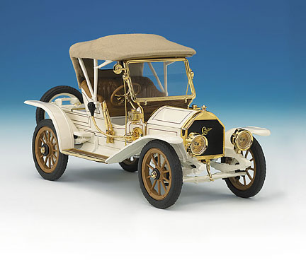 Cadillac Price >> PhillyMint-Franklin Mint 1910 Cadillac Model Thirty Roadster White Ltd Ed 1,000 1/24 diecast model