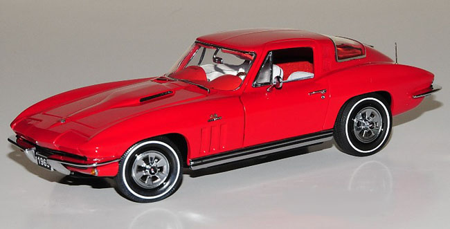 Phillymint Franklin Mint 1965 Corvette Sting Ray Coupe