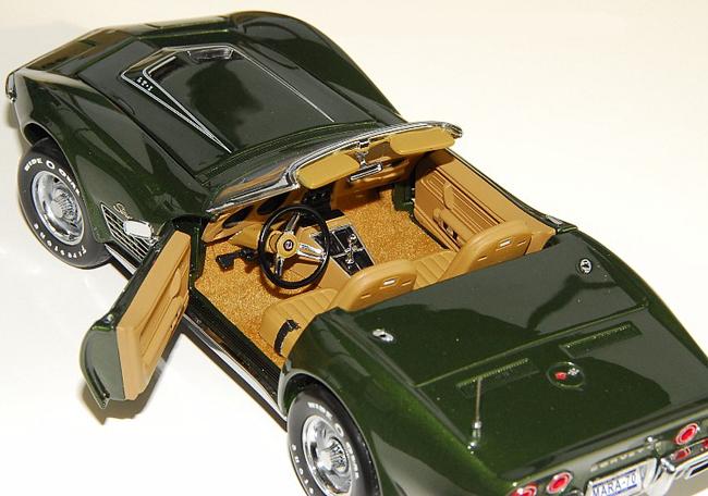 Phillymint Franklin Mint 1970 Corvette Lt 1 Fiberglass