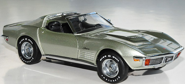 ... Coupe ZR1 - Limited Edition 350 - Pewter Silver - 1:24 Diecast model