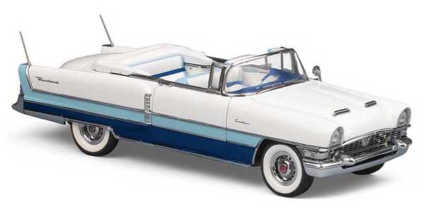phillymint franklin mint 1955 packard caribbean convertible sapphire ltd ed 1 24 diecast model