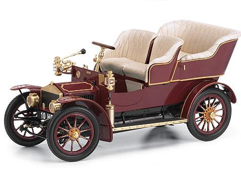 Phillymint Franklin Mint 1905 Rolls Royce 10hp Burgundy 1