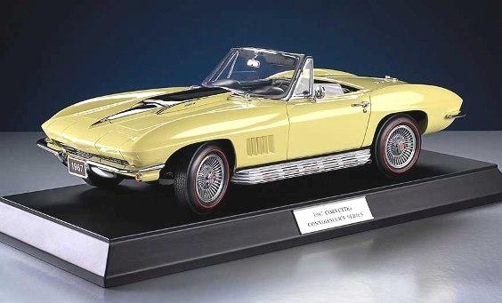 Phillymint Franklin Mint 1967 Corvette L88 Ltd Ed 1 12