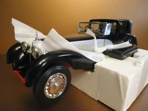 Phillymint Diecast Franklin Mint 1931 Bugatti Royale Coupe De Ville 1 16th Scale Diecast Model