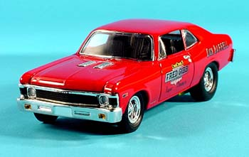 The Car Shop >> PhillyMint- GMP 1968 Chevy Nova Fred Gibb 1:43 diecast model