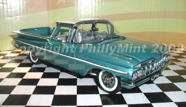 West Coast Corvette >> PhillyMint - West Coast 1959 Chevrolet El Camino Limited ...