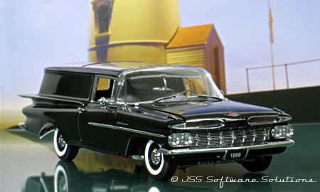 Phillymint Diecast West Coast 1959 Chevy Sedan Delivery