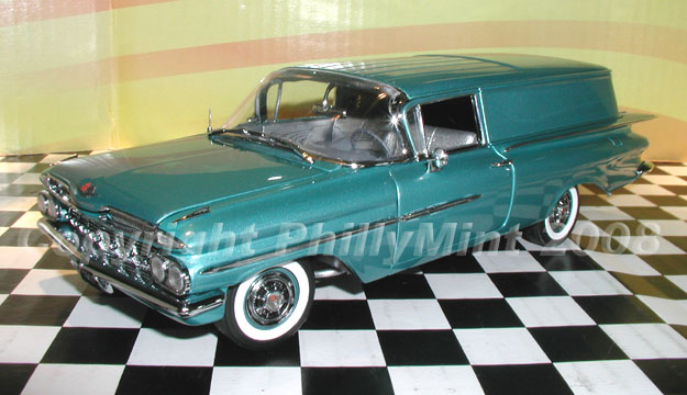 How Much Is A Crown >> PhillyMint Diecast- West Coast 1959 Chevrolet Sedan ...
