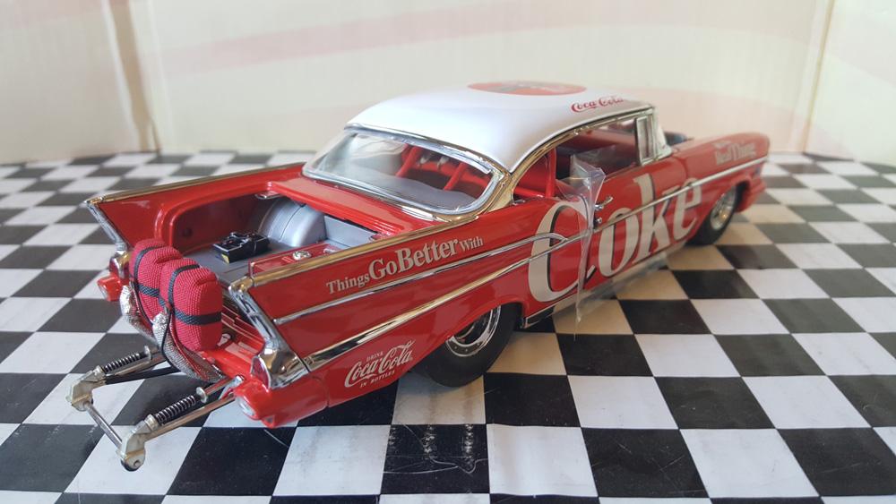 1957 Chevrolet Bel Air Hot Rod Coca-Cola