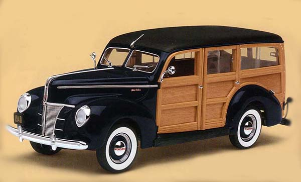 PhillyMint - Danbury Mint 1940 Ford Deluxe Woody Station ...