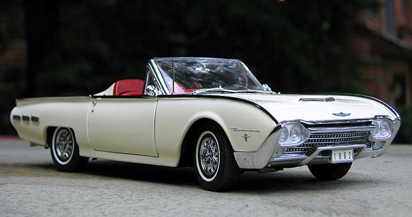 PhillyMint-Danbury Mint 1962 Ford Thunderbird Sports ...
