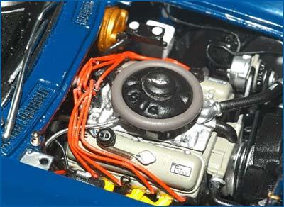 PhillyMint-Danbury Mint 1966 Corvette Penske Racer 1966 Sebring 12