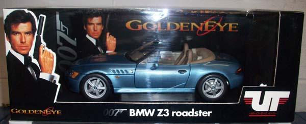 ut 1996 bmw z3 roadster james bond version 1 18 mint. Black Bedroom Furniture Sets. Home Design Ideas
