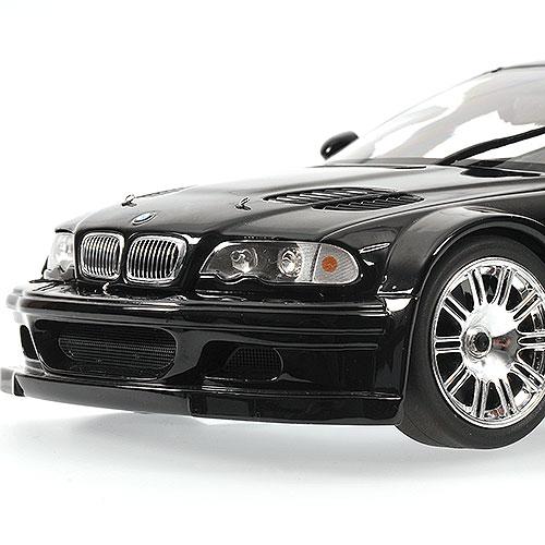 Bmw M3 Gtr: PhillyMint- Minichamps 2001 BMW M3 GTR Black 1:18 Diecast