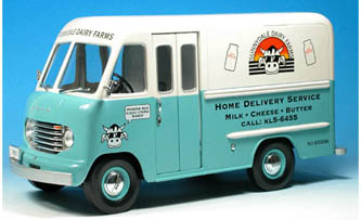 Phillymint Diecast Unique Replica S 1950 Ford Step Van