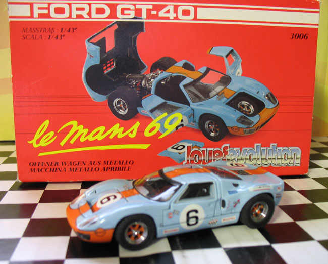 Phillymintcast Jouef Evolution  Ford Gt   Le Mans Rd Scalecast Model