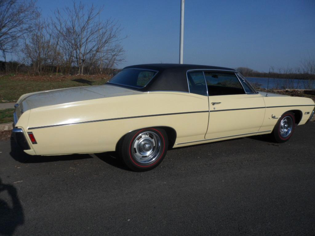 Phillymint 1968 Chevy Impala Custom Coupe Survivor For Sale Chevrolet 1 Owner 2013 Documented 51000 Original Miles When Purchased April