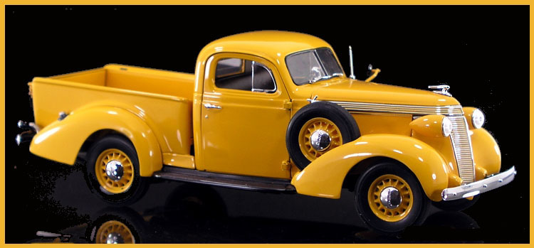 Bed Of A Truck >> PhillyMint Diecast - Danbury Mint 1937 Studebaker Pickup ...
