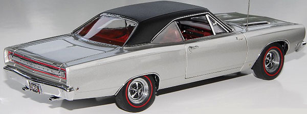 Runner Silver >> PhillyMint Diecast - Danbury Mint 1968 Plymouth Road Runner 383 Silver Metallic 1:24th Scale ...